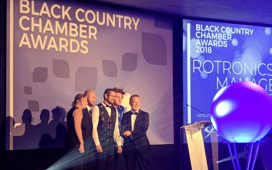 We Won Black Country Chamber of Awards - Best Use of Technology