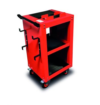 Workshop Charging Trolley c/w 10 mtr extension reel